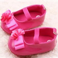 New Mary Jane Soft Sole PU Leather Princess Crib Shoes Fit for 0-12M Baby Girls