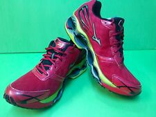Mizuno Wave Prophecy 2 Running Shoes (M) Red/Yellow 8KN-31601 NEW