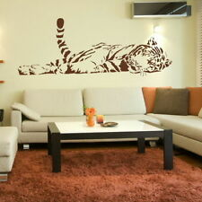 Bengal Tiger Big Cat Wall Sticker / Lage Interior Decor Big Cat Transfer CA27