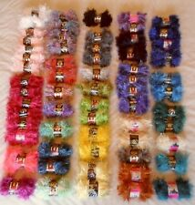 Lion Brand Fun Fur~choose from 20+ colors & 65 skeins~shipping discounts save $$