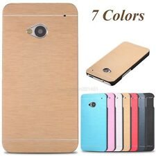 Charm Motomo Hybrid Metal Aluminum Brushed Hard Case Cover For HTC One M7/M8/M9