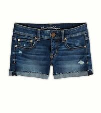 American Eagle Outfitters NWT Distressed Stretch Midi Shorts 4 6 8 10 12 14 Jean