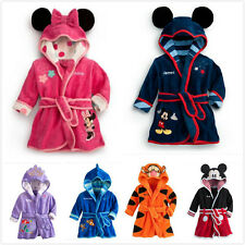 1pcs New Baby Girls Kids Boy Night Bath Robe Sleepwear Homewear Pajamas Clothing