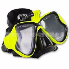 3 Color Snorkeling Scuba Diving Mask Mount Swimming Goggles for Gopro Hero 3/3+4