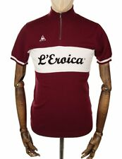 LE COQ SPORTIF MEN L'EROICA CYCLING REPLICA JERSEY red TOUR DE FRANCE BORDEAUX