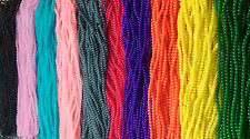 6mm Jelly Style Glass Beads Strands Jewellery Making 10 Colours 130pcs/strand