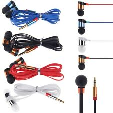 3.5mm Stereo In Ear Headphone Earphone Headset Earbud for Cellphone MP3 iPod PC