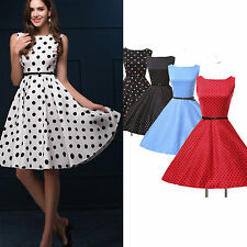 ❤vente folle❤Robe Pin Up Retro Vintage Rockabilly années 50s 60s Swing Robes NOU