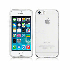 CRYSTAL CLEAR TRANSPARENT FLEXIBLE CASE GEL COVER FOR VARIOUS MOBILES APPLE HTC