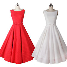 New Vintage Retro 1950s Lace Floral Party Prom Pinup Rockabilly Swing Dresses
