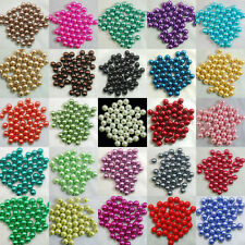 Wholesale Czech Glass Pearl Round Spacer Bead Jewelry Finding DIY 4/6/8/10/12mm