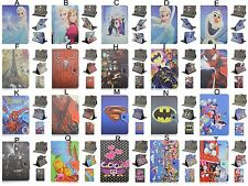 "For 7"" RCA Tablet Kids Super Hero Disney Cartoon Frozen PU Leather Case Cover"