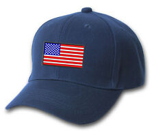 American Flag Logo USA Pride Support Our Troops Embroidered Hat 4 Colors