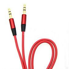 3.5 mm Jack Male to Male Aux Extension Audio Stereo Cable Cord For iPhone iPod B