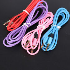 3.5 mm Jack Male to Male Aux Extension Audio Stereo Cable Cord For iPhone Sony
