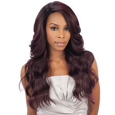 Freetress Equal Synthetic Hair Lace Deep Invisible L Part Lace Front Wig DANITY