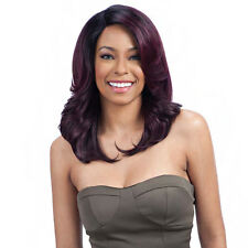 Model Model Lace Deep Invisible 3 Way Part Lace Front Wig - BREEZY