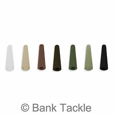 Tail Rubbers Carp Fishing Tackle Rubber Rig Cones Fits Safety Lead Clips (JE)