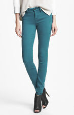 NWT MARC BY MARC JACOBS Stick Skinny Stretch Jeans in Teal $168 - Sz 24,25