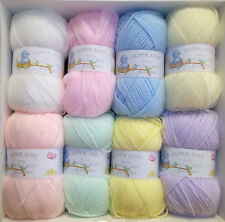 James C Brett DK Baby Wool 100g Super Soft 100% Acrylic Knitting Crochet Yarn