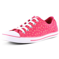 Converse CT Dainty Ox Womens Canvas Pink Trainers New Shoes All Sizes