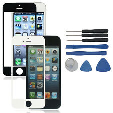 KIT OUTIL REPARATION + VITRE FACE AVANT IPHONE 5 5S 5C 6 4S FRONT GLASS + TOOLS