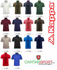 Kappa - POLO UOMO PIQUET - 14 COLORI  - TENNIS/GOLF - art.  302MX50