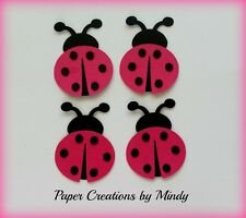 Craftecafe Mindy Embellishment ladybug premade paper piecing scrapbook page