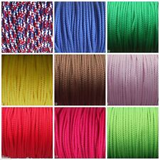 4mm POLYESTER PIPING CORD POLYESTER CORD VARIOUS LENGTHS AND COLOURS