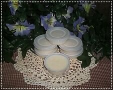 Nellie's Acres Natural Beeswax Solid Lotion Cups...u choose scent..6 one oz Cups