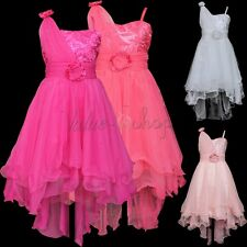 Flower Girls Bridesmaid Communion Formal Dress Pageant Party Birthday Wedding