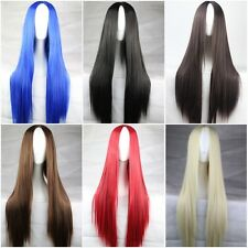 Fashion Multi-Color Women's Wigs Anime Cosplay Party Wig 75CM Full Long Bangs