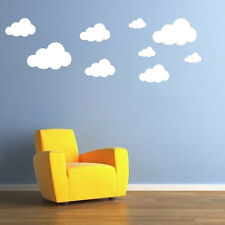 22 x Cloud Wall Stickers / Decals with choice of 2 colours