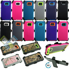 New Defensive Case Cover w/Screen Protector&Belt Clip for Samsung Galaxy S6