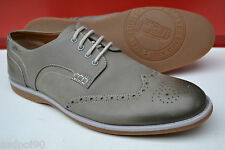 Clarks Mens Casual Shoes Farli Limit Grey Leather UK 10 RRP £70