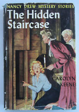 Nancy Drew #2 The Hidden Staircase HBDJ Carolyn Keene Vintage Digger End Pages