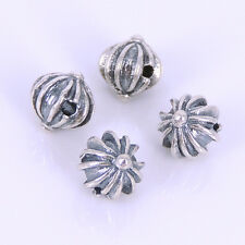 S925 Sterling Silver 5x5mm Vintage Celtic Cross CH Bead Charm WSP272