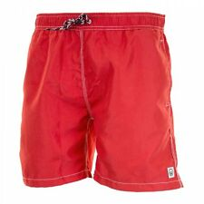 Duck And Cover Swenson Swimshorts Mens Shorts / Swim Shorts Red