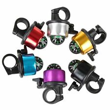 Multicolour Compass Metal Ring Handlebar Bell Sound For Bike Bicycle Five Colors