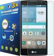 3x Clear LCD Screen Protector Guard Cover for LG Escape 2 (2nd Gen) H443 H445