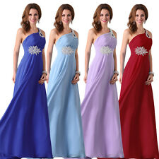 GK New Stock Evening Formal Party Ball Gown Prom Bridesmaid Long Wedding Dress