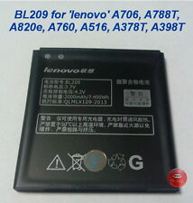 Battery BL209 for LENOVO smartphone A706 A820e A760 & others(see description)