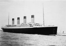 Titanic Print Photo White Star Line Wall Art Print Picture