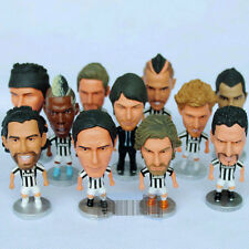 Soccer Player Figure Doll JUVENTUS Football PIRLO BUFFON TEVEZ VIDAL BAGGIO POGB