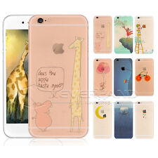 Cute Pattern Funda De Carcasa Case Back Cover Skin Piel Para iPhone 4/5/6 Plus