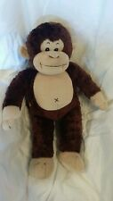 Build a Bear  Monkey, SUPER SOFT Plush Stuffed animal, AWESOME Clean, With Sound