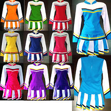 Damen Cheerleader-Cheerleading Kostüm/ Kleid Fasching/Cosplay Gr. XS, S, M, L
