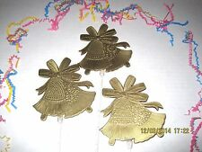 Floral Picks WEDDING BELLS Gold or WHITE Pick 5, or 6 Pk Cake Toppers NEW!