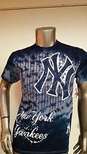 new mens MLB new york yankees tie dye baseball t-shirt