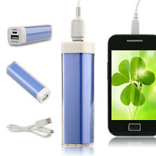 External 2600mAh Portable Power Bank Backup Battery USB Charger for Smart Phone